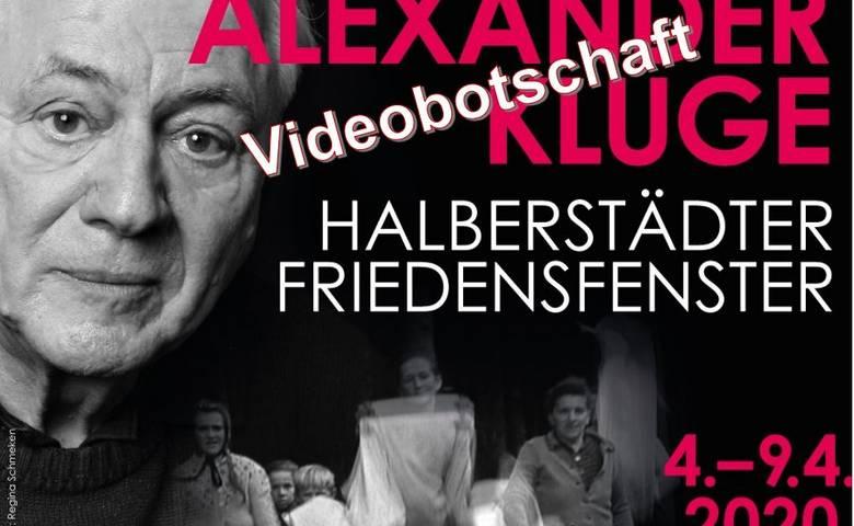 Videobotschaft Alexander Kluge an die Halberstädter [(c) Stadt Halberstadt]