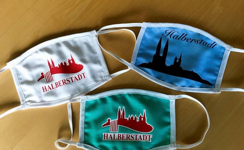 Halberstadt-Mundschutz-Maske [(c) Stadt Halberstadt]