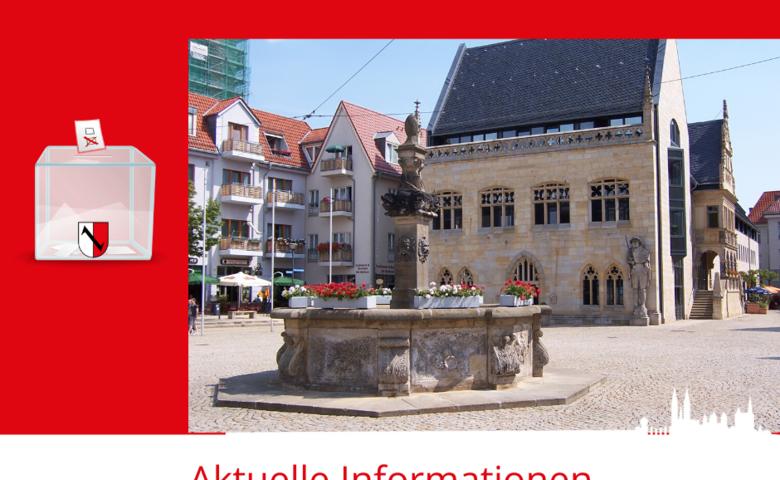 Wahl des Oberbürgermeisters der Stadt Halberstadt 2020 [(c) Stadt Halberstadt, Neue Medien]