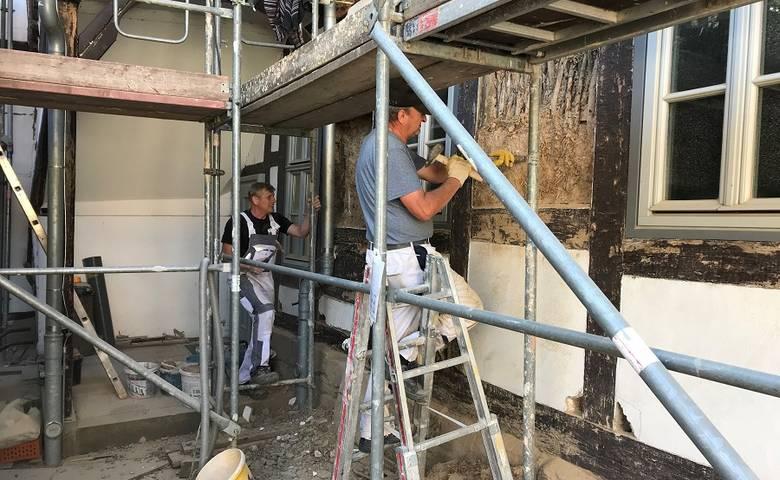 Unerwartete Holzschäden bei Gleimhaus-Sanierung [(c) Stadt Halberstadt/Pressestelle]