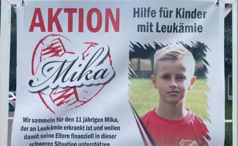 Mika Spendenaufruf [(c) Privat]