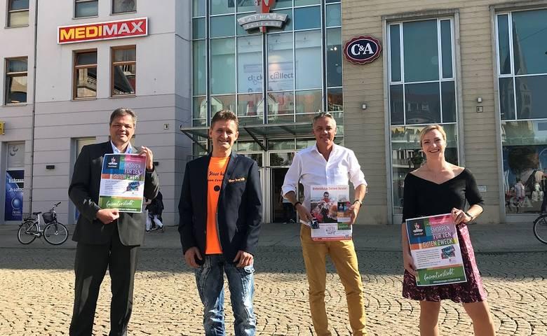In der Innenstadt shoppen und dabei den Lieblingsverein unterstützen - Rathauspassagen starten HeimatSponsor in Halberstadt [(c) Stadt Halberstadt/Pressestelle]