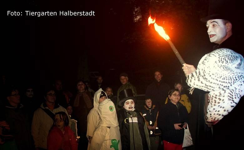 Geisterstunde im Tiergarten mit Hygienekonzept [(c) Stadt Halberstadt/Tiergarten]
