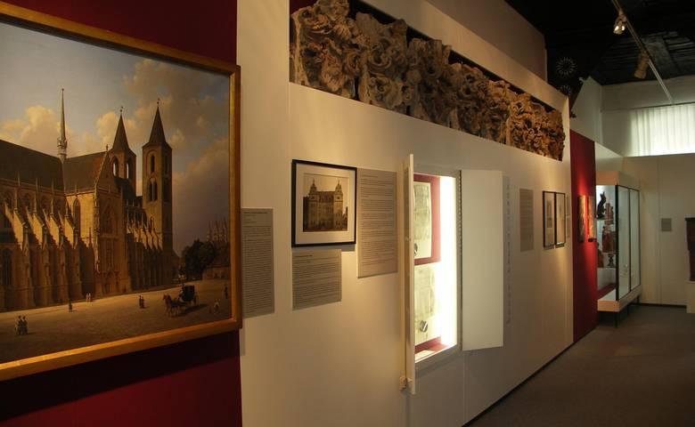 Domherrenwappen der Kommisse, Ausstellung zum Domkapitel im Städtischen Museum Halberstadt [(c): Städtisches Museum Halberstadt]