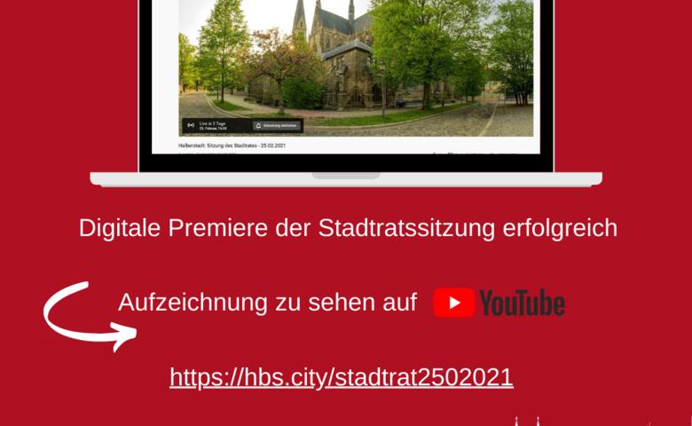 Digitale Premiere der Stadtratssitzung erfolgreich [(c) Stadtmarketing/Öffentlichkeitsarbeit]