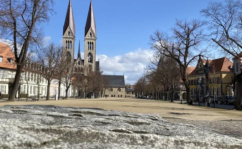 Domplatz in Halberstadt [(c) Stadtmarketing/Öffentlichkeitsarbeit]