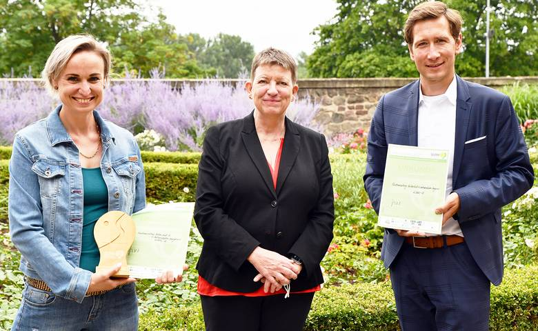 Die Stadt Halberstadt und der Verein Halberstädter Berge e.V.  sind die  Gewinner des 25. Umweltpreises Sachsen-Anhalt [(c) Stadt Halberstadt, Pressestelle]