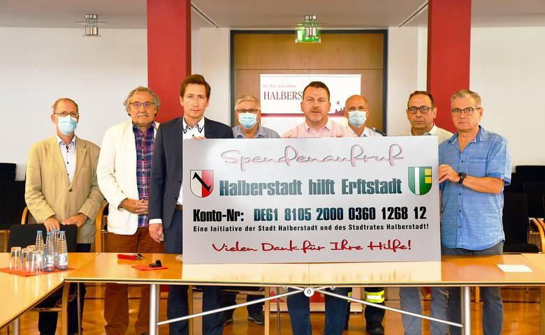 Halberstadt hilft Erftstadt [(c) Stadt Halberstadt, Pressestelle]