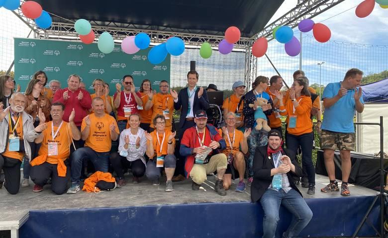 Abschlussveranstaltung der Special Olympics Landesspiele 2021 in Halberstadt [(c) Stadtmarketing/Öffentlichkeitsarbeit]