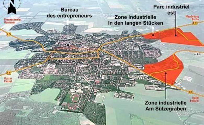 Zones industrielles et commerciales