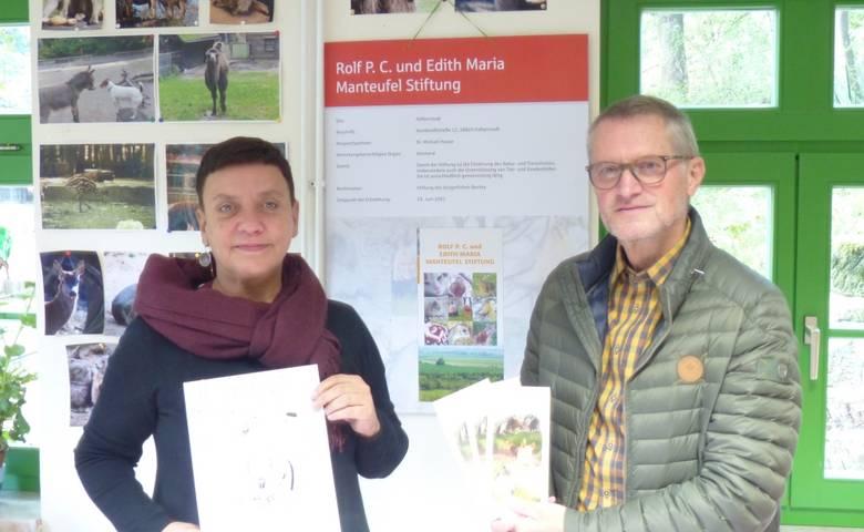 Manteufelstiftung stellt Projekte für Tiergarten und Rotmilanzentrum vor [(c) Stadtverwaltung Halberstadt]