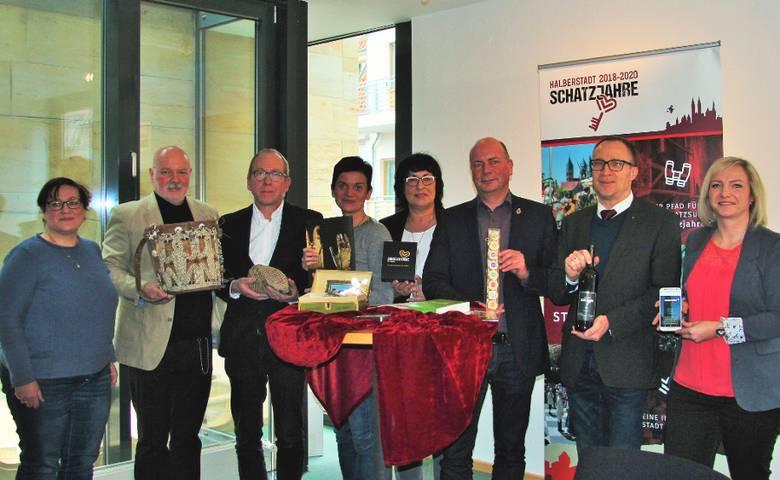 KOMMEN, SUCHEN, STAUNEN – Halberstadt ruft Schatzjahre aus [(c) Stadt Halberstadt]
