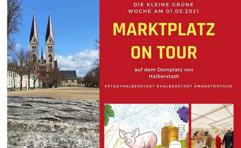 """""""Marktplatz on Tour"""" – belebt am 01. Mai den Domplatz Halberstadt [(c) Stadtmarketing/Öffentlichkeitsarbeit]"""