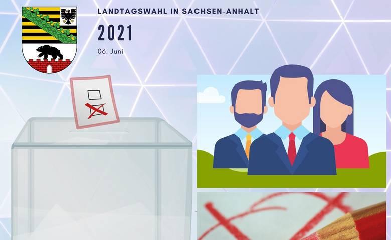 Informationen zur Landtagswahl in Sachsen-Anhalt am 06.06.2021 [(c) Stadtmarketing/Öffentlichkeitsarbeit]