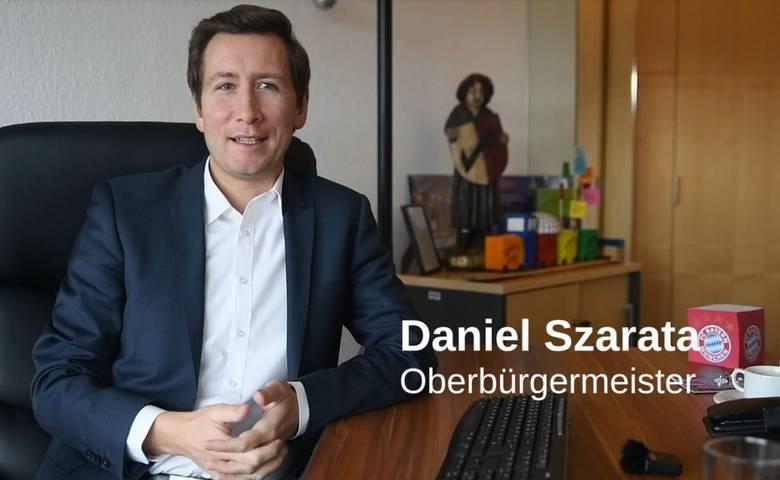 OB Szarata richtet sich mit Videobotschaft an die Halberstädter [(c) Stadt Halberstadt, Öffentlichkeitsarbeit]